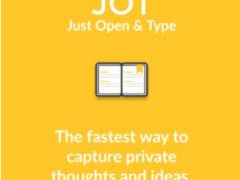 JOT (Just Open & Type) - A new kind of journal