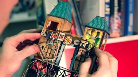 Lumino City  수공예 건물 모형