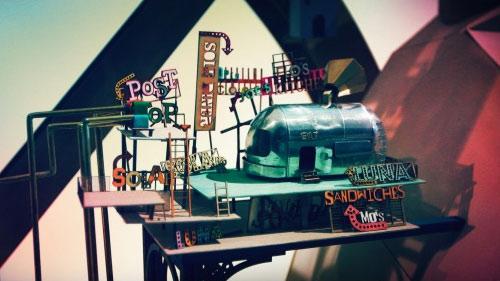 Lumino City 게임배경 모형