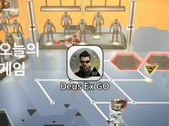 Deus Ex GO 아이폰 퍼즐게임 대표이미지