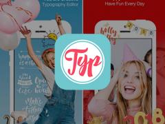 Typcas - Add Text to Photo 아이폰 어플 아이콘 이미지