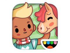 Toca Life: Stable 아이폰 어플 아이콘