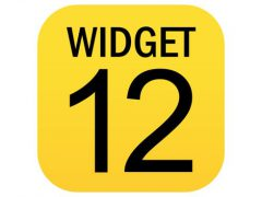 WIDGET 12 아이폰앱 아이콘