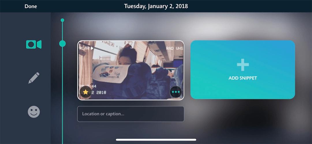 1 second everyday  하루의 비디오 스니핏 상세화면