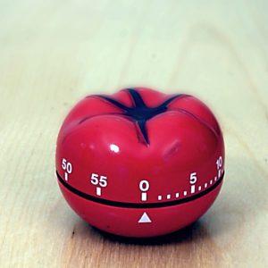 토마토 모양 조리용 타이머 사진