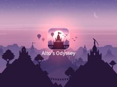 Alto's odyssey 아이폰 게임 대표이미지
