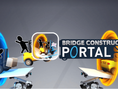 Bridge Constructor Portal 게임 대표이미지