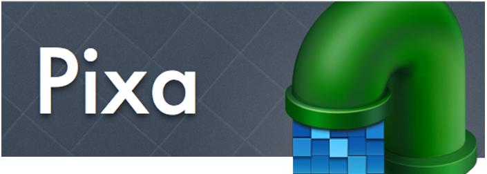 pixa 맥앱 로고와 아이콘