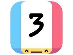 Threes! 아이폰 퍼즐게임 아이콘
