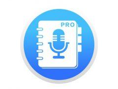 음성 메모 PRO - 녹음, 녹음기, 보이스 레코더, 일기 맥앱 아이콘