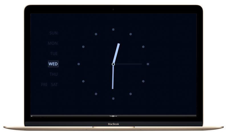 시계타마가 맥북에서 실행된 모습