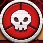 몬스터의 턴은 빨간 바탕에 해골마크가 그려있어요