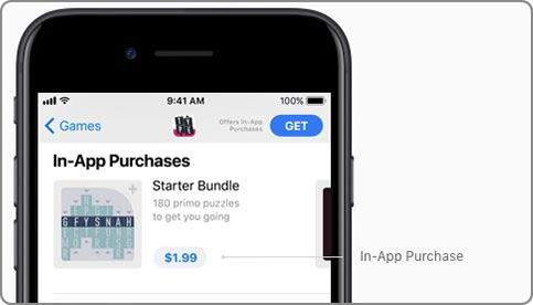 iOS 11 새로운 앱스토어-인앱 앱내구매