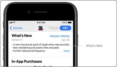 iOS 11 새로운 앱스토어- what's new